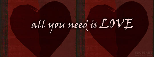 All You Need Is Love Facebook Cover