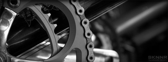 Bike Crank Facebook Cover