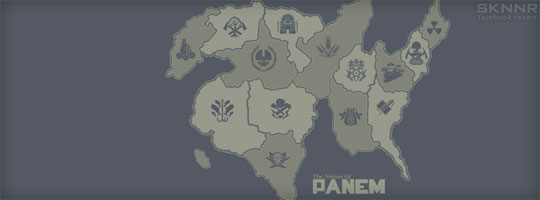 Districts of Panem Facebook Cover