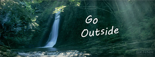 Go Outside Facebook Cover