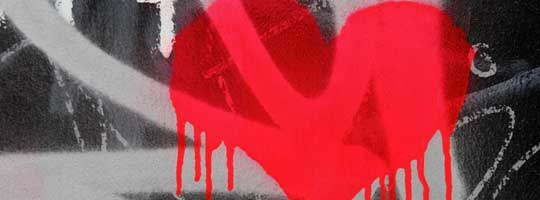 Graffiti Heart Facebook Cover