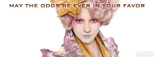 Hunger Games Effie Facebook Cover