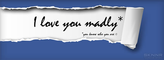 I Love You Madly Facebook Cover