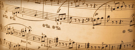 Music Notes 3 Facebook Cover