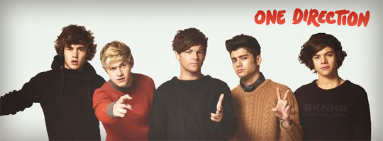 One Direction 4 Facebook Cover