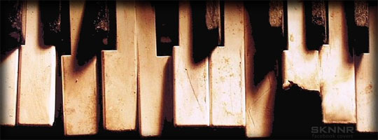 Piano Keys Facebook Cover