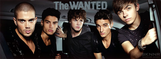 The Wanted 2 Facebook Cover