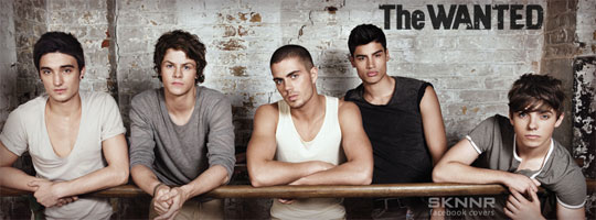 The Wanted 5 Facebook Cover