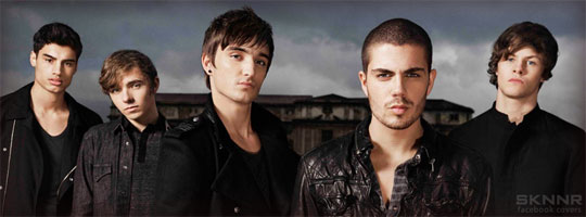 The Wanted 7 Facebook Cover