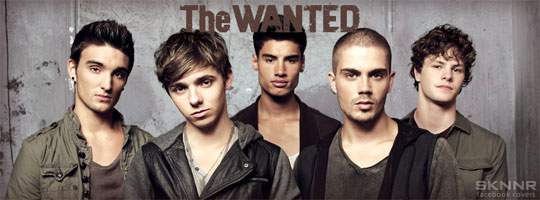 The Wanted Facebook Cover